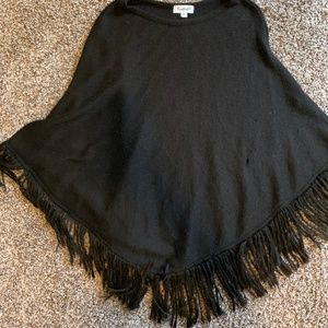 Black Nasty Gal Poncho